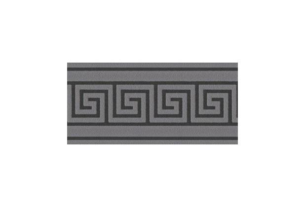 AS Création selbstklebende Bordüre Only Borders 9 schwarz 895943 5,00 m x 0,04 m