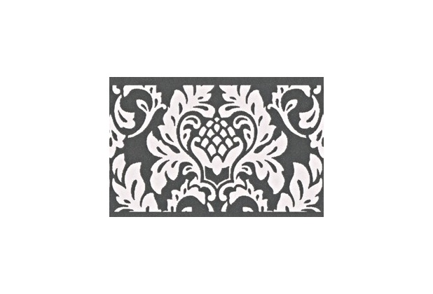 as cr ation selbstklebende bord re only borders 9 schwarz wei ebay. Black Bedroom Furniture Sets. Home Design Ideas