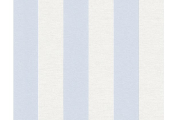 AS Création Shabby Chic Mustertapete Liberté, Tapete, blau, weiß 314024 10,05 m x 0,53 m