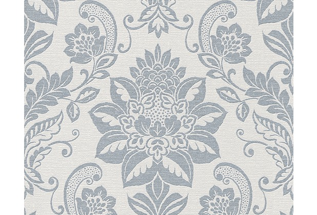 AS Création Shabby Chic Mustertapete Shabby Style, Vliestapete, beige, grau, metallic 293459 10,05 m x 0,53 m