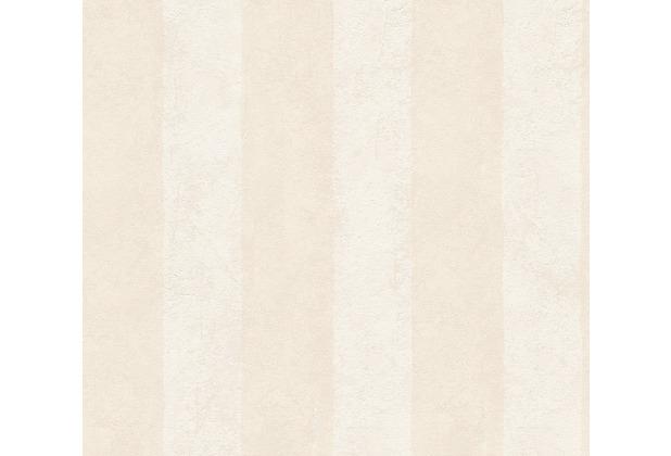 AS Création Streifentapete Essentials Vliestapete Tapete beige 560032 10,05 m x 0,53 m