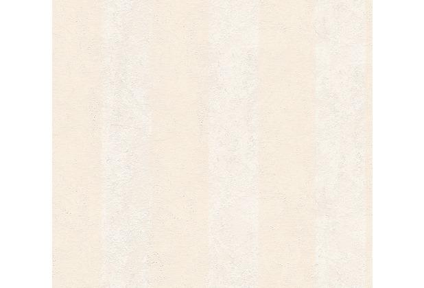 AS Création Streifentapete Essentials Vliestapete Tapete beige 560049 10,05 m x 0,53 m