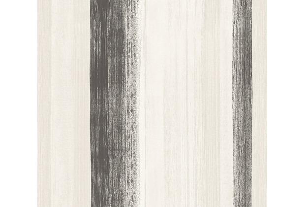 AS Création Streifentapete Free Nature Vliestapete braun grau 344506 10,05 m x 0,53 m