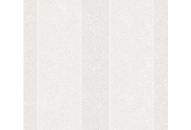 AS Création Streifentapete Happy Spring Vliestapete creme grau 343032 10,05 m x 0,53 m