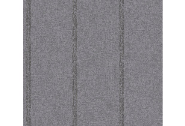 AS Création Streifentapete Midlands Vliestapete grau 319654 10,05 m x 0,53 m