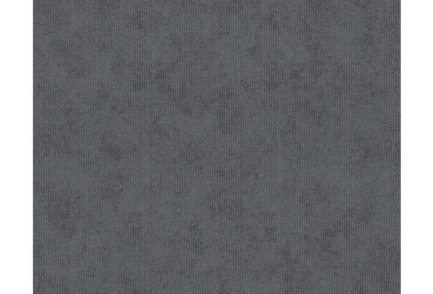 AS Création Unitapete Memory 3 Vliestapete grau metallic 125811 10,05 m x 0,53 m