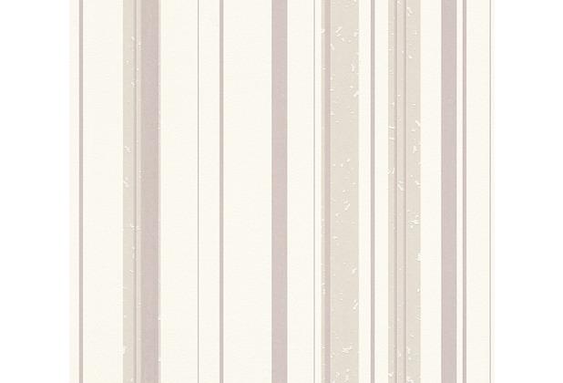AS Création Streifentapete New Look Vliestapete beige creme 327692 10,05 m x 0,53 m
