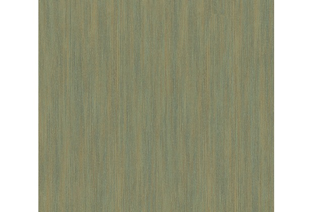 AS Création Streifentapete Siena Tapete grün metallic 328821 10,05 m x 0,53 m
