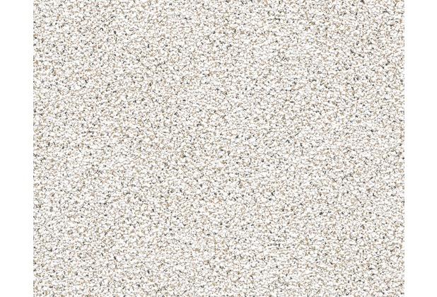 AS Création Strukturtapete Dekora Natur, Strukturprofiltapete, signalweiß, schwarz 156310 10,05 m x 0,53 m
