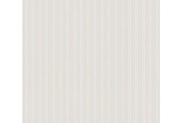 AS Création Vliestapete Meistervlies Streifentapete überstreichbar weiß 967015