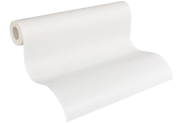 AS Création Vliestapete Meistervlies Strukturtapete überstreichbar weiß 246011