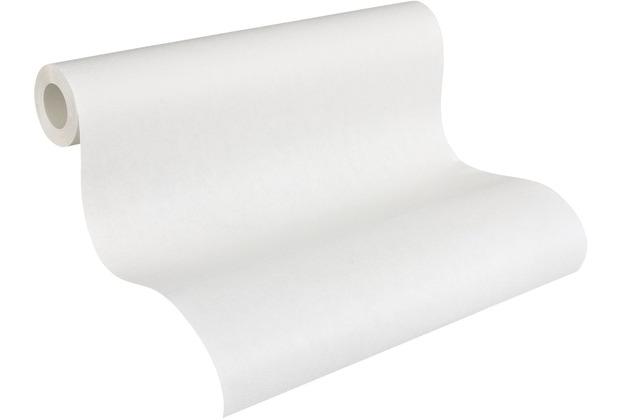 AS Création Vliestapete Meistervlies Strukturtapete überstreichbar weiß 305817