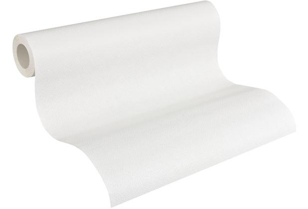 AS Création Vliestapete Meistervlies Strukturtapete überstreichbar weiß 306616