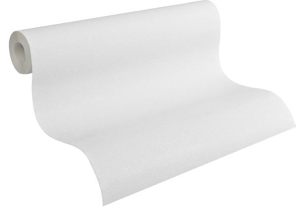 AS Création Vliestapete Meistervlies Strukturtapete überstreichbar weiß 311016