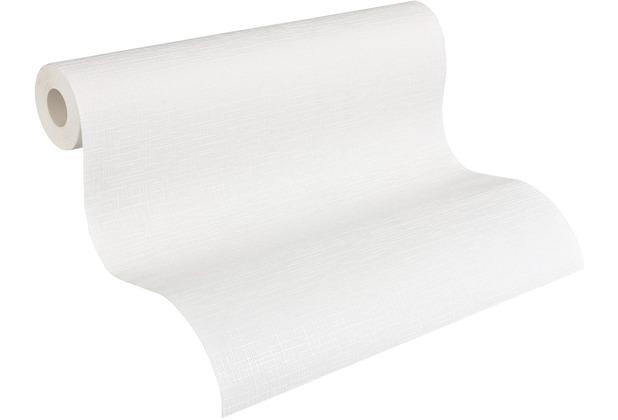 AS Création Vliestapete Meistervlies Strukturtapete überstreichbar weiß 574619