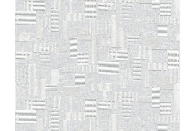 AS Création überstreichbare Vliestapete Meistervlies 4 GO, weiß 262516