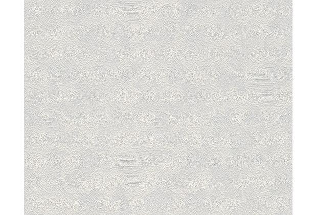 AS Création überstreichbare Vliestapete Meistervlies 4 GO, weiß 169112
