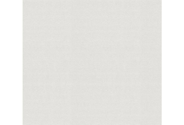 AS Création Vliestapete Meistervlies Strukturtapete überstreichbar weiß 101815