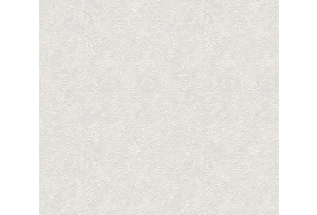 AS Création Vliestapete Meistervlies Tapete in Putzoptik überstreichbar weiß 145215