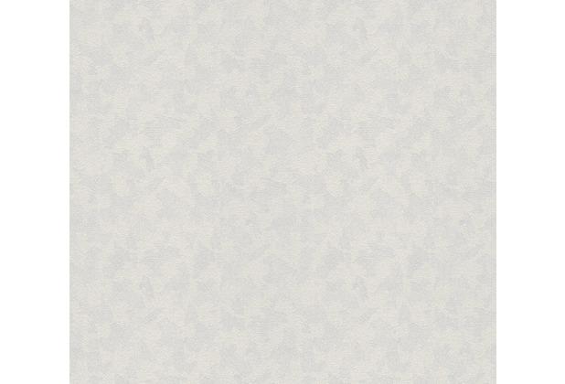 AS Création Vliestapete Meistervlies Strukturtapete überstreichbar weiß 153319