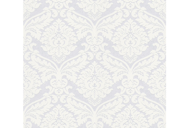 AS Création Vliestapete Meistervlies Barocktapete überstreichbar weiß 243812