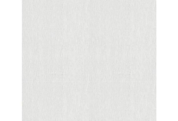 AS Création Vliestapete Meistervlies Streifentapete überstreichbar weiß 244017