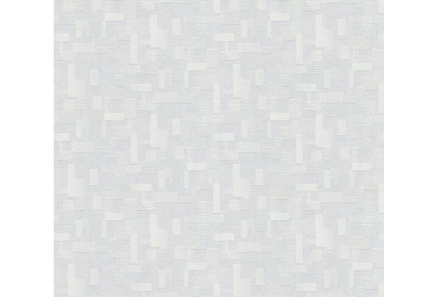AS Création Vliestapete Meistervlies grafische Tapete überstreichbar weiß 262110