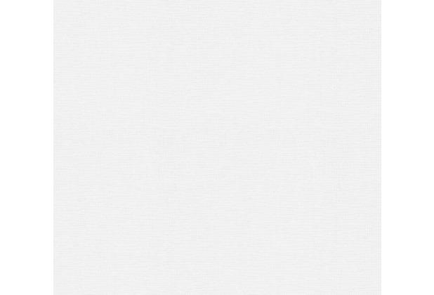 AS Création Vliestapete Meistervlies Strukturtapete überstreichbar weiß 307613