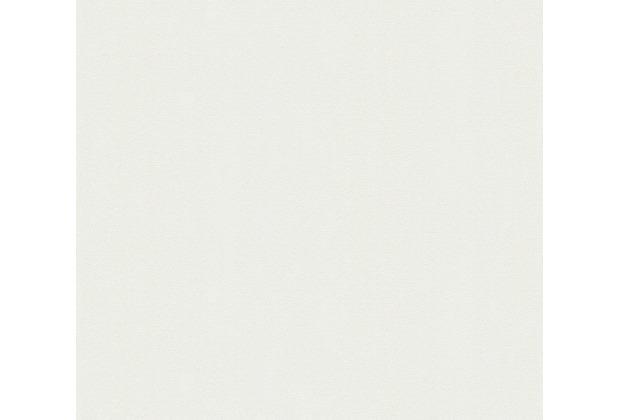 AS Création Vliestapete Meistervlies Strukturtapete überstreichbar weiß 310019