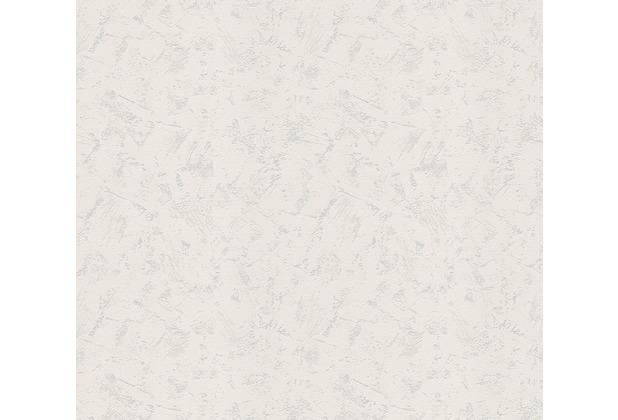 AS Création Vliestapete Meistervlies Tapete in Putzoptik überstreichbar weiß 520319