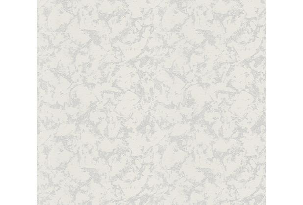AS Création Vliestapete Meistervlies Tapete in Putzoptik überstreichbar weiß 522016