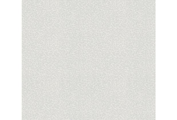 AS Création Vliestapete Meistervlies Strukturtapete überstreichbar weiß 643018