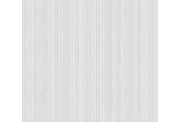 AS Création Vliestapete Meistervlies Streifentapete überstreichbar weiß 644817