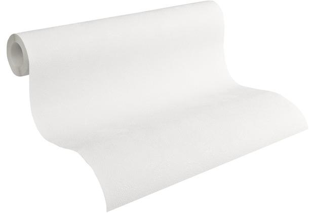 AS Création Vliestapete Meistervlies Strukturtapete überstreichbar weiß 103611