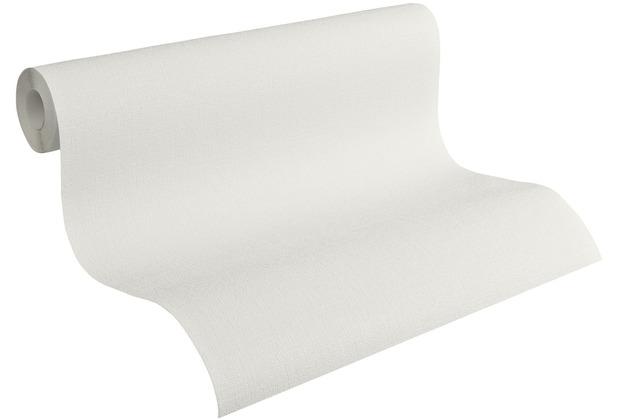 AS Création Vliestapete Meistervlies Strukturtapete überstreichbar weiß 103918