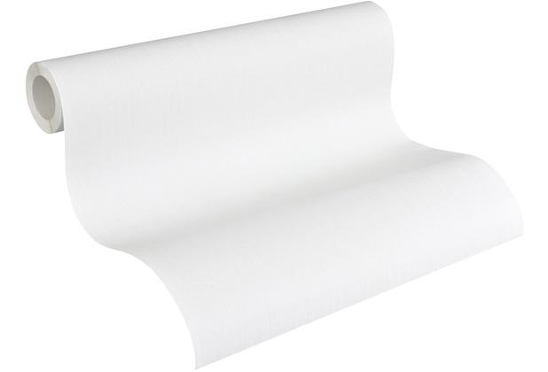 AS Création Vliestapete Meistervlies Strukturtapete überstreichbar weiß 248312