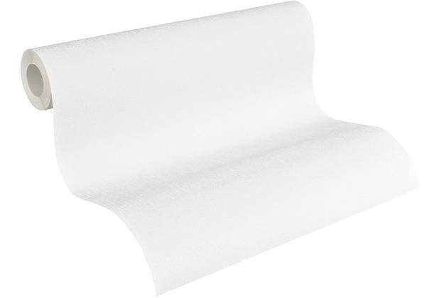 AS Création Vliestapete Meistervlies Strukturtapete überstreichbar weiß 251213