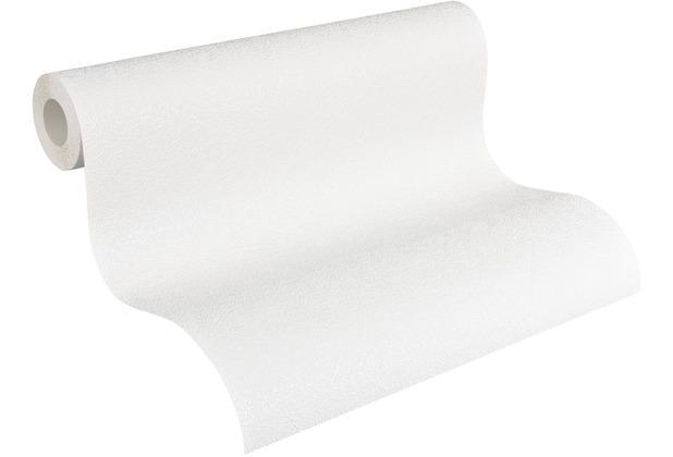 AS Création Vliestapete Meistervlies Strukturtapete überstreichbar weiß 260413