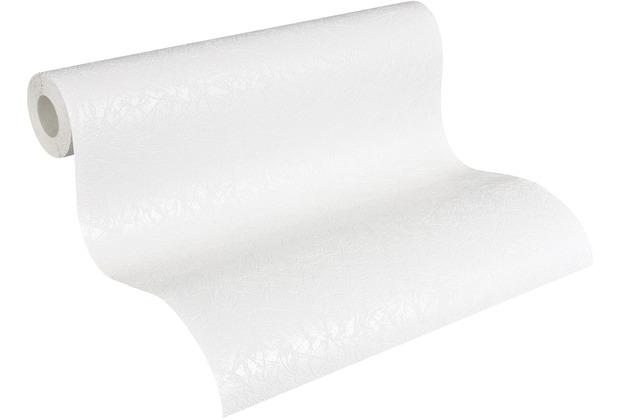 AS Création Vliestapete Meistervlies Strukturtapete überstreichbar weiß 563217