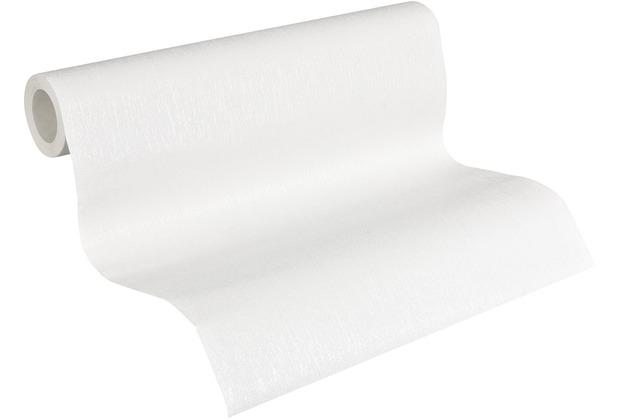 AS Création Vliestapete Meistervlies Strukturtapete überstreichbar weiß 570314