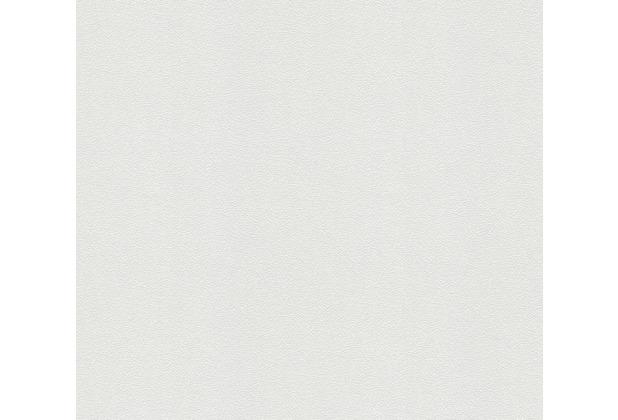 AS Création Vliestapete Meistervlies Strukturtapete überstreichbar weiß 239815