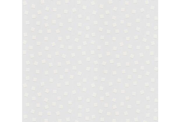 AS Création Vliestapete Meistervlies grafische Tapete überstreichbar weiß 239914