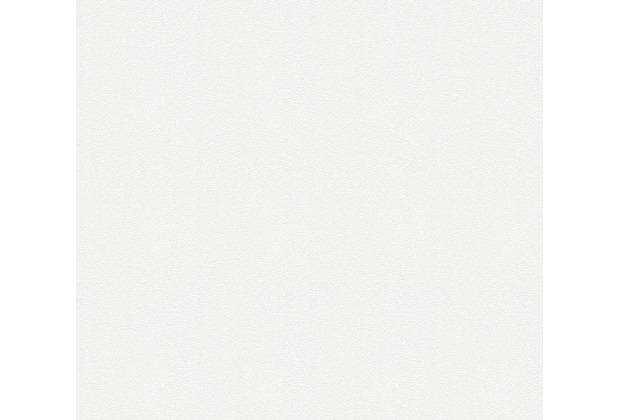 AS Création Vliestapete Meistervlies Strukturtapete überstreichbar weiß 245915