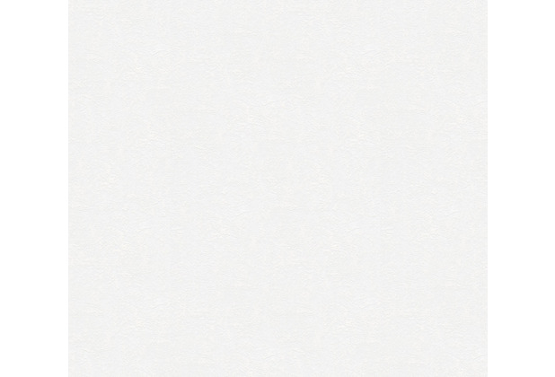 AS Création Vliestapete Meistervlies Strukturtapete überstreichbar weiß 248817
