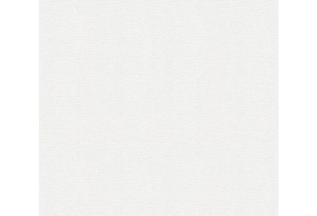 AS Création Vliestapete Meistervlies Strukturtapete überstreichbar weiß 250612