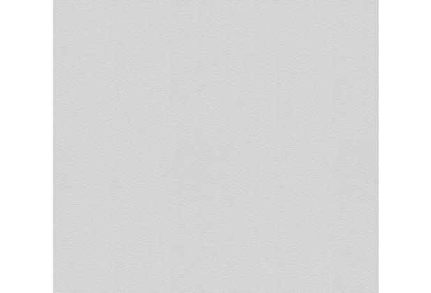 AS Création Vliestapete Meistervlies Strukturtapete überstreichbar weiß 251312