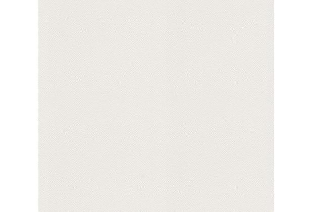 AS Création Vliestapete Meistervlies Strukturtapete überstreichbar weiß 252616
