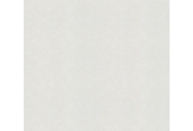 AS Création Vliestapete Meistervlies Strukturtapete überstreichbar weiß 573414