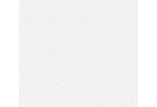AS Création Vliestapete Meistervlies Strukturtapete überstreichbar weiß 573513