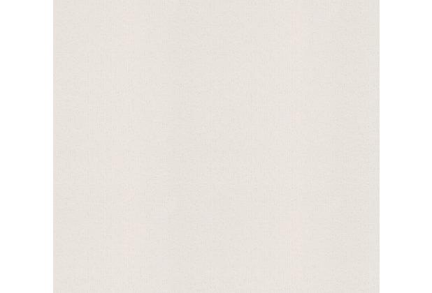 AS Création Vliestapete Meistervlies Strukturtapete überstreichbar weiß 573612